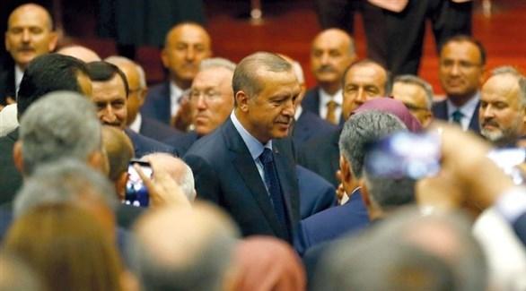 أردوغان بين أنصاره (أرشيف)