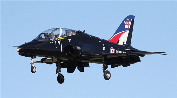 طائرة بريطانية من طراز هوك تي 1 (أرشيف)