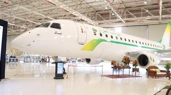 طائرة للموريتانية للطيران في مطار نواكشوط (صحراء ميديا)
