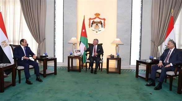 لقاء يجمع قادة دول العراق والأردن ومصر (أرشيف)