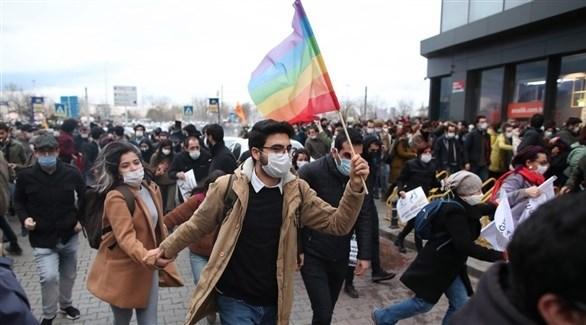 جانب من لتظاهرات في إسطنبول (أرشيف)