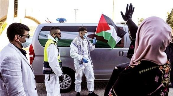 عاملون بوزارة الصحة الفلسطينية (أرشيف)