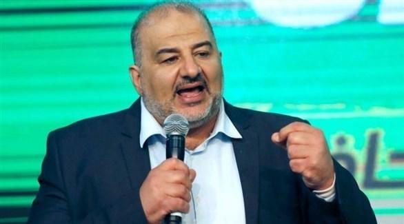 زعيم القائمة الموحدة منصور عباس (أرشيف)