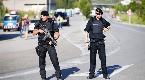 عناصر من الشرطة الاسبانية (أرشيف)