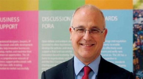 السفير البريطاني في اليمن مايكل آرون (الشرق الأوسط)