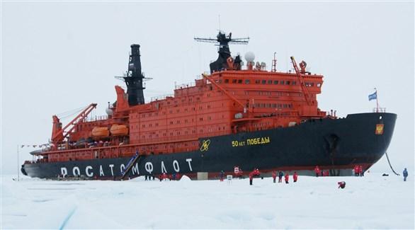 كاسحة الجليد الروسية النووية 50 لات بوبدي (أرشيف)