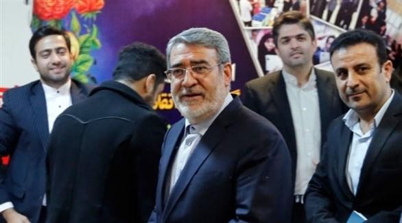 وزير الداخلية الإيراني عبد الرضا رحماني فضلي (أرشيف)