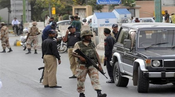 عناصر من الشرطة اللباكستانية (أرشيف)