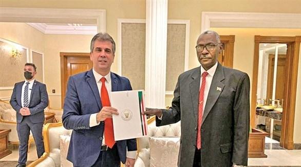 خلال توقيع اتفاق التطبيع بين السودان وإسرائيل (أرشيف)
