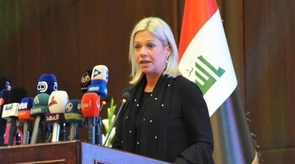 الممثلة الأممية الخاصة في العراق جينين هينيس بلاسخارت (أرشيف)