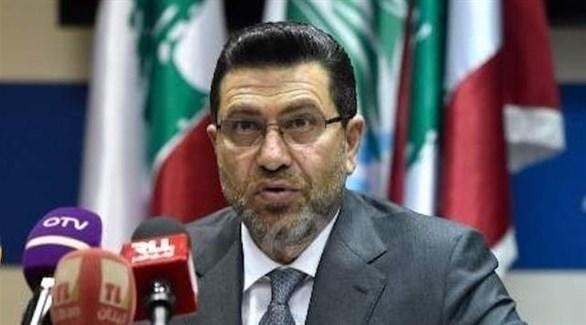 وزير الطاقة في حكومة تصريف الأعمال اللبنانية ريمون غجر (أرشيف)