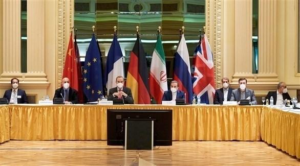 جانب من اجتماع الدول المشاركة في المفاوضات حول النووي الإيراني (أرشيف)
