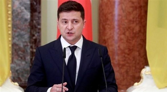 الرئيس الأوكراني فولوديمير زيلينسكي (أرشيف)