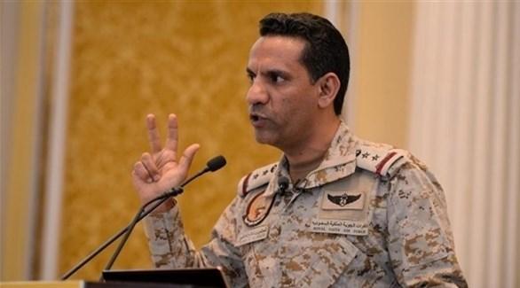 المتحدث باسم قوات التحالف العقيد ركن المالكي (أرشيف)