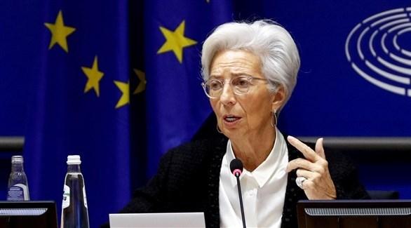 رئيسة البنك المركزي الأوروبي كريستين لاغارد (أرشيف)
