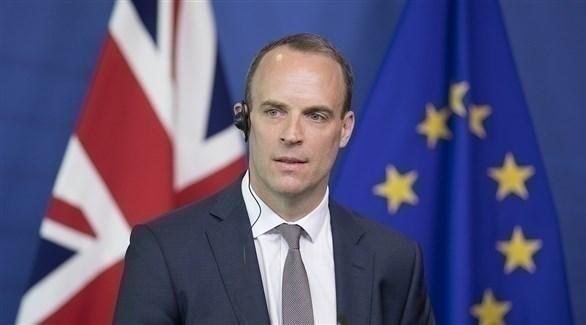 وزير الخارجية البريطاني دومينك راب (أرشيف)