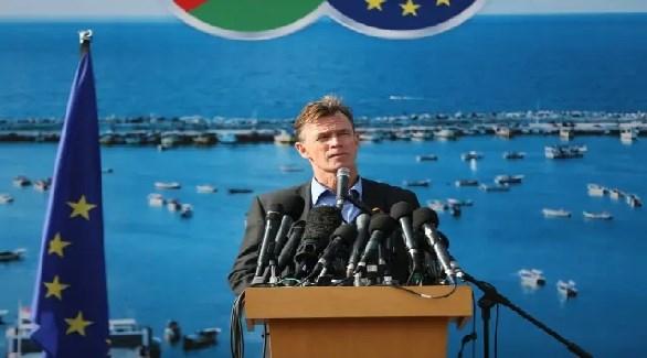 ممثل الاتحاد الأوروبي في فلسطين سفين كون فون بورغسدورف (أرشيف)