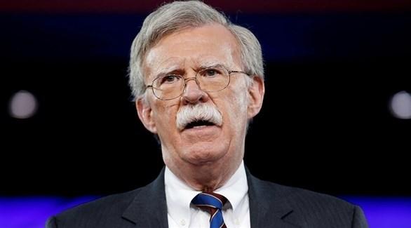 مستشار الأمن القومي الأمريكي السابق جون بولتون (أرشيف)