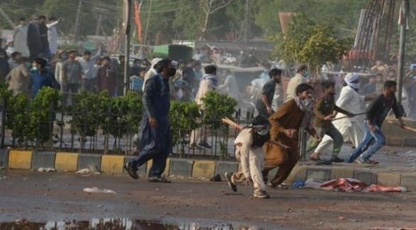 جانب من الاحتجاجات الأخيرة في باكستان (أرشيف)