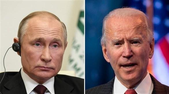 الرئيس الأمريكي بايدن ونظيره الروسي بوتين (أرشيف)