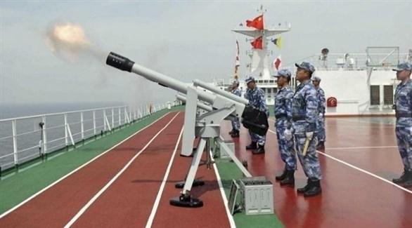 جانب من تدريبات الصين (أرشيف)