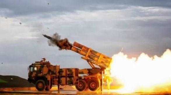 قاذفة صواريخ تركية شمال سوريا (أرشيف)