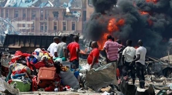 نازحون في نيجيريا (أرشيف)