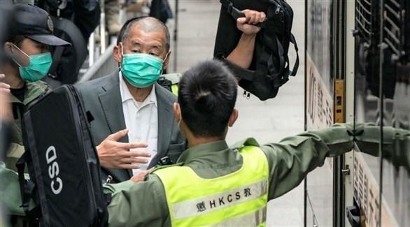 الناشط المؤيد للديمقراطية في هونغ كونغ جيمي لاي (أرشيف)