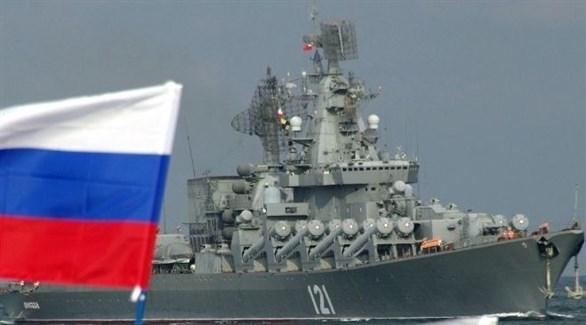 سفينة حربية روسية في القرم (أرشيف)