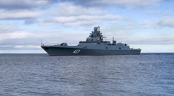 فرقاطة روسية في بحر أزوف  (أرشيف)