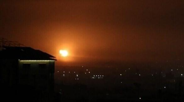 غارات إسرائيلية على غزة (أ ف ب)