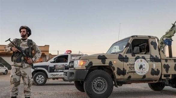 انتشار للقوات الأمنية في مدينة سرت الليبية (أرشيف)