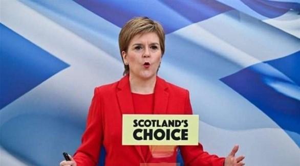 رئيسة الوزراء الاسكتلندية نيكولا ستورغن (أرشيف)