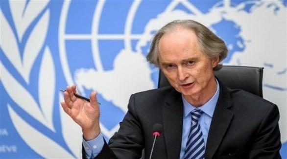المبعوث الأممي إلى سوريا غير بيدرسن (أرشيف)