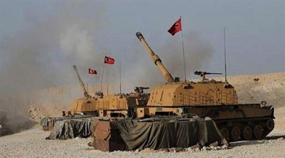 مدفعية للجيش التركي في شمال سوريا (أرشيف)