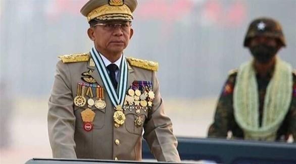 الجنرال مين أونغ هلاينغ (أرشيف)