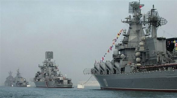 سفن روسية حربية (أرشيف)