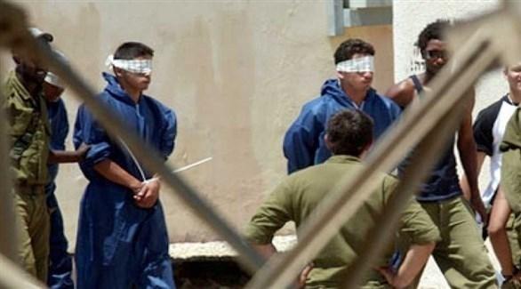 أسرى فلسطينيون في سجون إسرائيل (أرشيف)