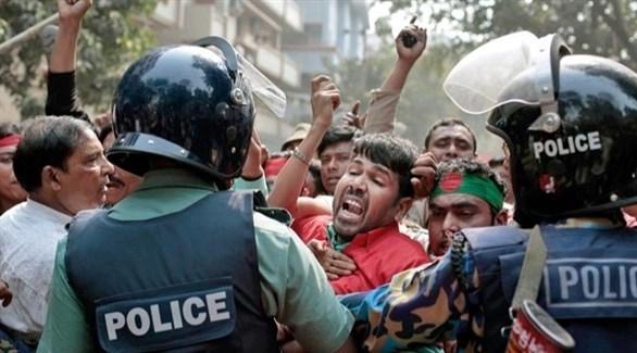 احتجاجات عمالية في بنغلاديش (أرشيف)