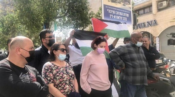 مرشحون عن قائمة فتح قبل اعتقالهم في القدس (أرشيف)