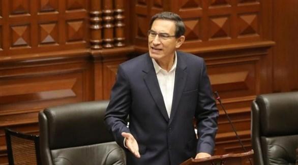 رئيس بيرو السابق مارتن فيزكارا (أرشيف)