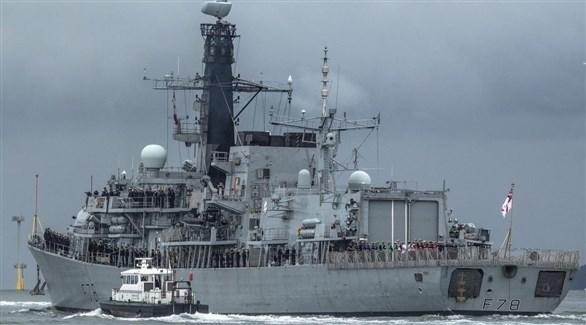 سفينة حربية بريطانية (أرشيف)