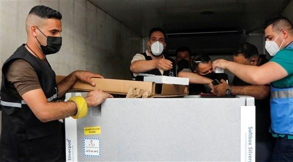 وصول جرعات من لقاح مضاد لكورونا في العراق (أرشيف)