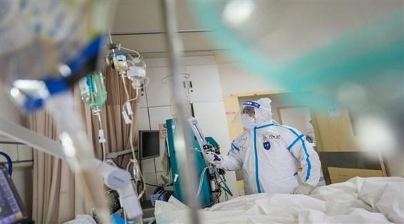 مستشفى لعلاج مصابي كورونا في أمريكا (أرشيف)
