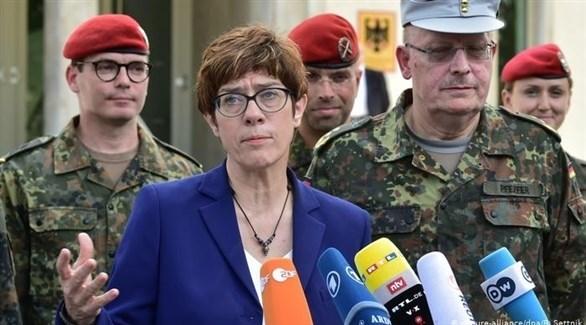 وزيرة الدفاع الألمانية أنيغريت كرامب كارينباور (أرشيف)