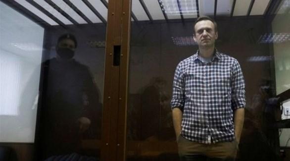 المعارض الروسي المسجون أليكسي نافالني (أرشيف)