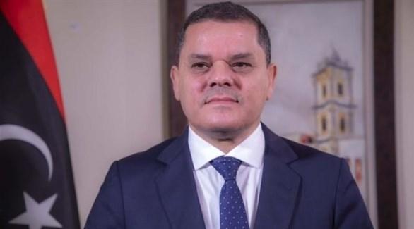 رئيس الحكومة الوطنية الليبية عبد الحميد ديبة (أرشيف)