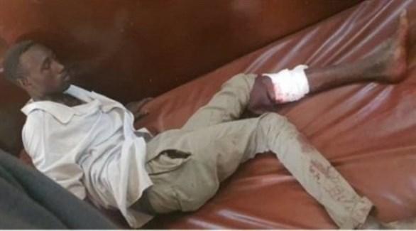 مصاب خلال فض الاحتجاج في دارفور (سودان تربيون)