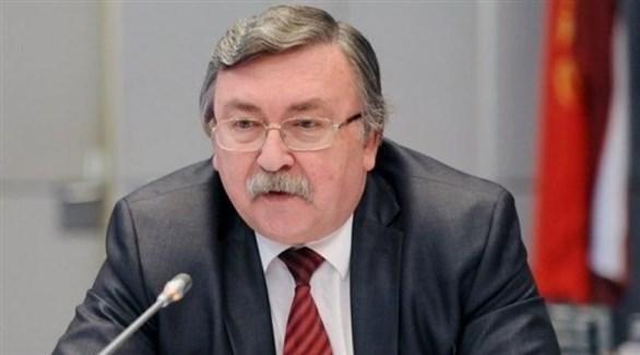 مدوب روسيا الدائم لدى المؤسسات الدولية في فيينا ميخائيل أوليانوف (أرشيف)