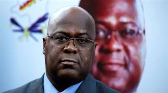 رئيس جمهورية الكونغو الديموقراطية فيليكس تشيسكيدي (أرشيف)